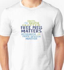 Free Press Matters Unisex T-Shirt