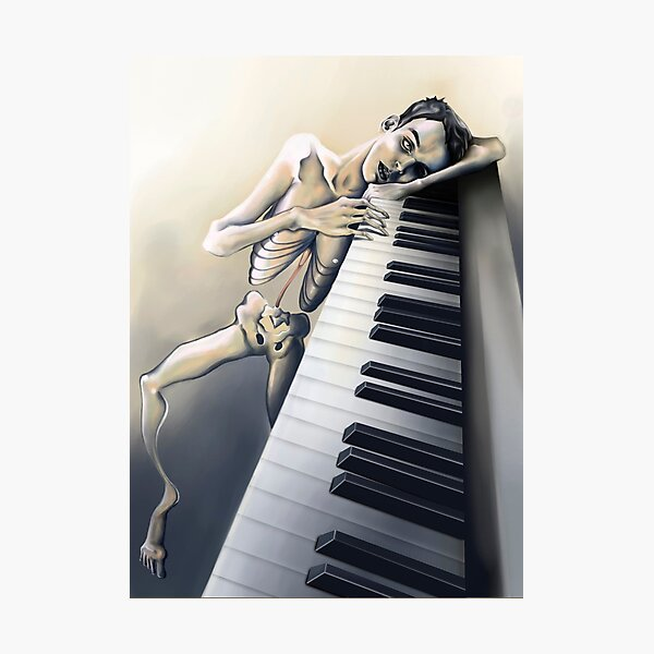 Piano Man Photographic Print