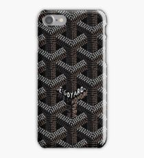 Goyard Black - Goyard Black Dark iPhone Case/Skin