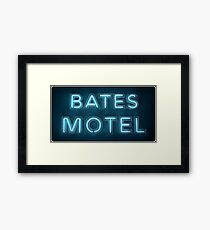 Bates Framed Print