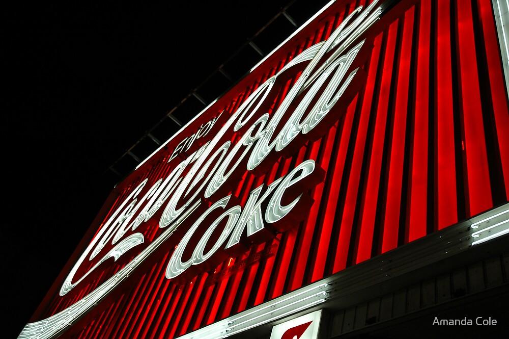 Coke Sign by Amanda Cole