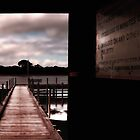 Augusta's Old Town Jetty...Western Australia by Angelika  Vogel