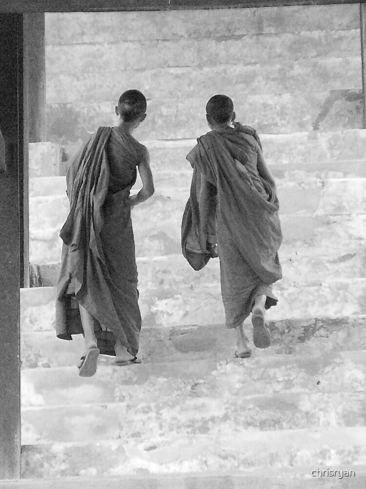 2 monks by chrisryan