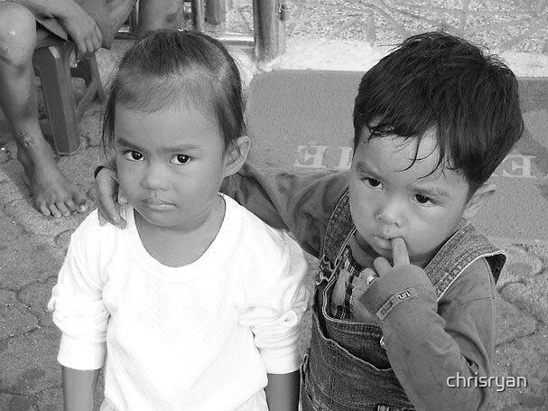 Khmer kids by chrisryan