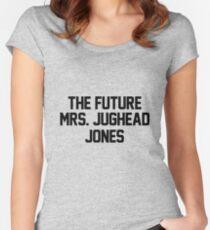 The future Mrs. Jughead Jones Women's Fitted Scoop T-Shirt