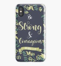 Bible verse wallpaper iphone cases skins for x 88 plus 77 be strong courageous joshua 19 iphone caseskin voltagebd Choice Image
