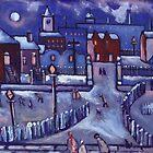 Winter wonderland (from my original painting) by sword