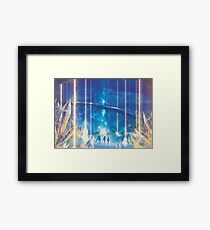 Valak Mountains by Night  Framed Print