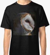Barn Owl Profile Classic T-Shirt