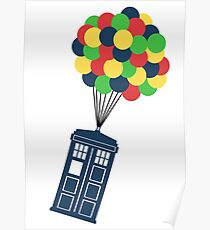 The Police Box on the sky... Poster