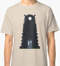The Police box on the night... Classic T-Shirt