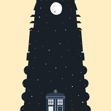 The Police box on the night... by Alertta