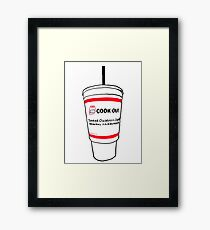 Cookout Cup Framed Print