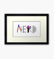 Stereotype - Nerd Framed Print