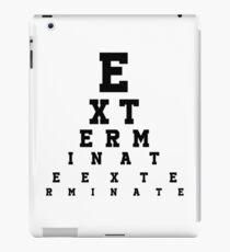 Dalek Eye Table iPad Case/Skin