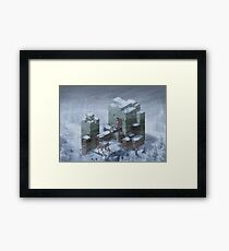 Tietra's Fall  Framed Print