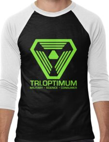 TriOptimum Corporation Men's Baseball ¾ T-Shirt