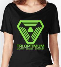 TriOptimum Corporation Women's Relaxed Fit T-Shirt