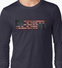 'RESIST' USA Protest Flag  Long Sleeve T-Shirt
