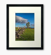 Antietam Memorial Framed Print