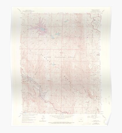 USGS TOPO Map Colorado CO Cascade 450287 1961 24000 Poster