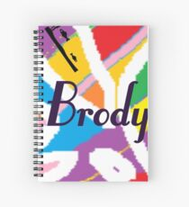 Brody - your birth name Spiral Notebook