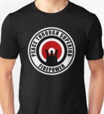 AR-15 Peace Through Superior Firepower Unisex T-Shirt