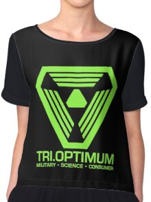 TriOptimum Corporation Chiffon Top