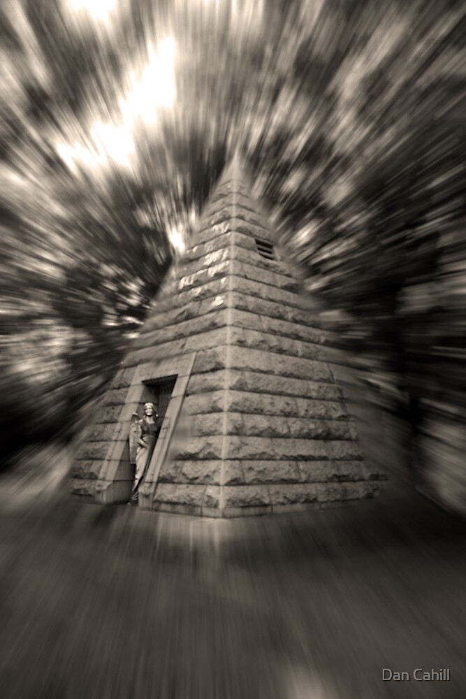 Pyramids of our Fathers (Sepia) by Dan Cahill