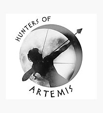 Hunters of Artemis (Dark) Photographic Print