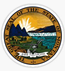 Montana State Seal Sticker