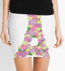 Flower Eiffel Tower Mini Skirt