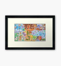 Megaman Fresco  Framed Print