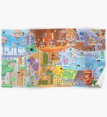 Megaman Fresco  Poster