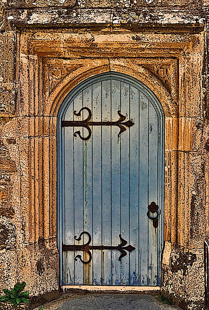 Church Door by Michael Barber4
