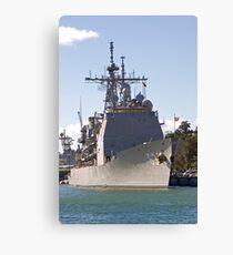 USS Cowpens Canvas Print