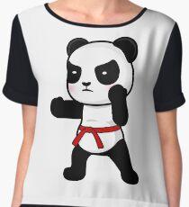 Hi-Yah! Panda Chiffon Top