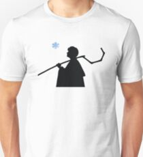 Transitional Jack Frost Silhouette  T-Shirt