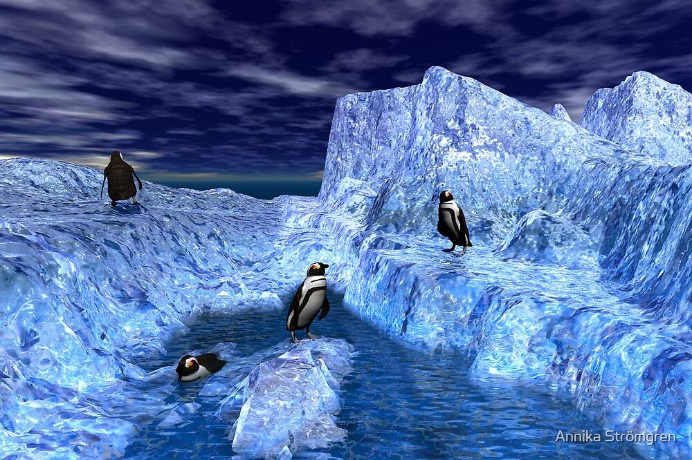 Ice world by Annika Strömgren