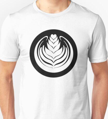 Latte Art Tulip (cercle noir series) T-Shirt