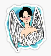 An Angel Sticker
