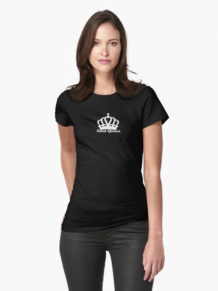 Reine Anale Shirts Moulants Femme Par Mobscene
