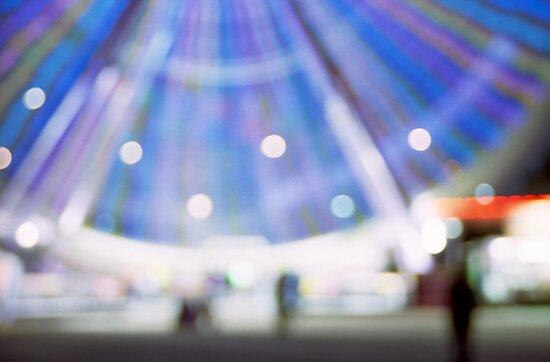 Ferris all a blur by Lisa Bow