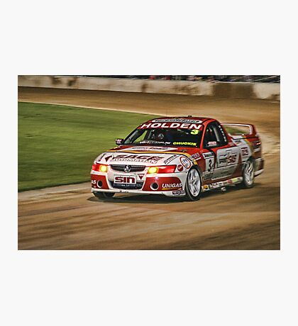 Speedway Nights Photographic Print