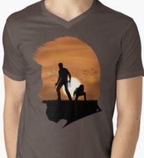 Logan T-Shirt mit V-Ausschnitt