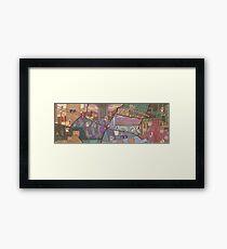 Quackshot Fresco  Framed Print