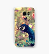 Peacock Flowers Samsung Galaxy Case/Skin