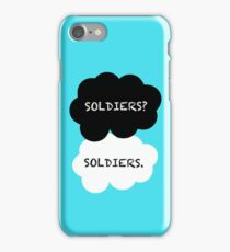 SHERLOCK- SOLDIERS TFP  iPhone Case/Skin