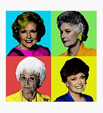 The Golden Girls 4 Way Color Photographic Print