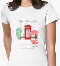 London Bird Womens Fitted T-Shirt